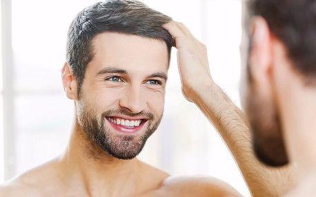 Pánské relaxační ošetření s peelingem a masáží