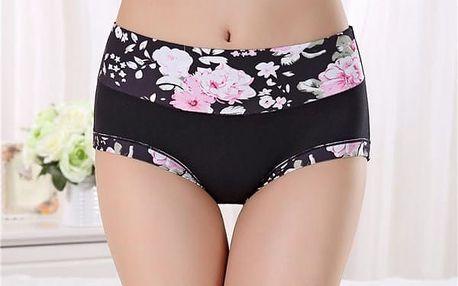Květované kalhotky - až do nadměrných velikostí