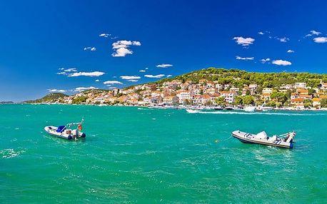 10denní pobyt pro 1 osobu s dopravou i ubytováním v Chorvatsku