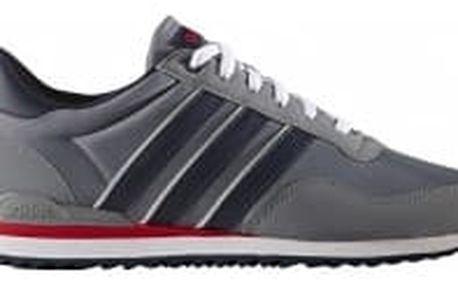 Pánské boty adidas JOGGER CL 44 GREY/CONAVY/SCARLE