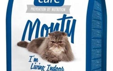 Granule Brit Care Cat Monty I´m Living Indoor 2 kg