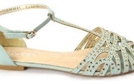 Letní dámské sandálky BLESS modré