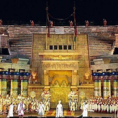 3denní výlet pro 1 osobu do italské Verony na operu včetně koupání