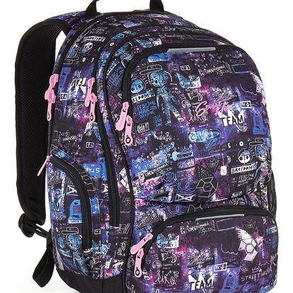Studentský batoh Topgal HIT 889 I - Violet