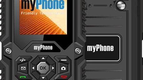 myPhone HAMMER, černá - GSMFN2200