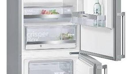 Kombinace chladničky s mrazničkou Siemens KG39EAL43 Inoxlook + Doprava zdarma