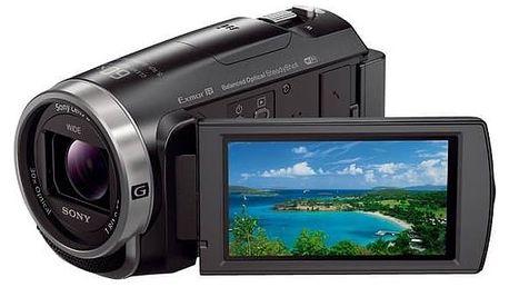 Videokamera Sony HDR-CX625B černá + Doprava zdarma
