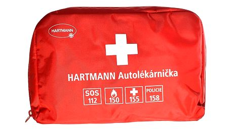 HARTMANN autolékárnička - červená