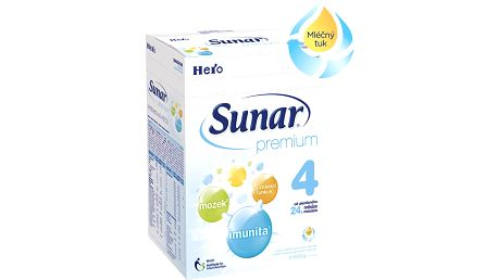 SUNAR Premium 4, 600 g – kojenecké mléko