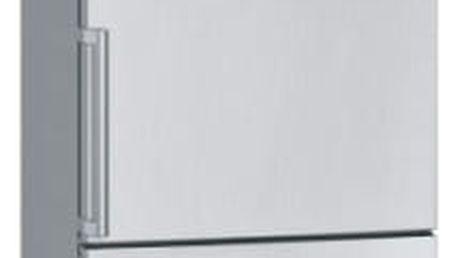 Kombinace chladničky s mrazničkou Siemens KG49EBI40 nerez