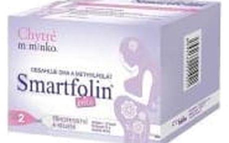 CHYTRÉ MIMINKO Smartfolin 2 metylfolát 30 tablet + 30 kapslí