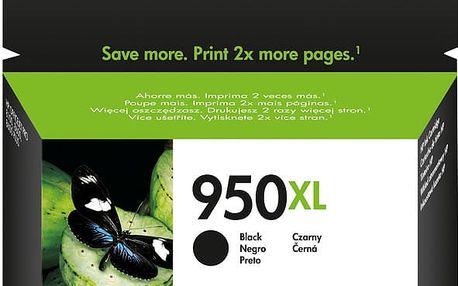 HP CN045AE, Černá, č. 950XL – ušetřete až 50 % oproti standardní náplni