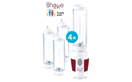 CONCEPT SM-3354 Smoothie maker SHAKE AND GO Family pack 4 láhve