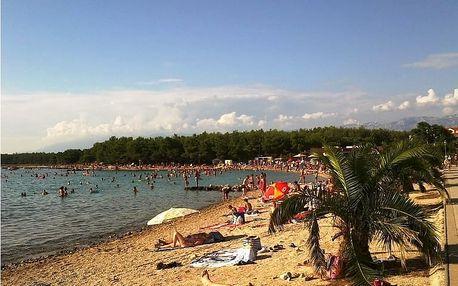 Povljana na ostrově Pag: týden ve stanu s plnou penzí i dopravou