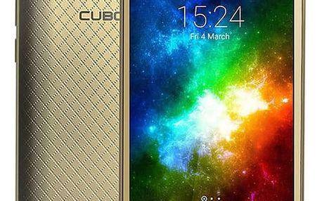 Mobilní telefon CUBOT Manito (MTOSCTMANI051) zlatý + DOPRAVA ZDARMA