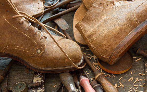 50% sleva na opravu obuvi, výrobu klíčů a broušení nožů
