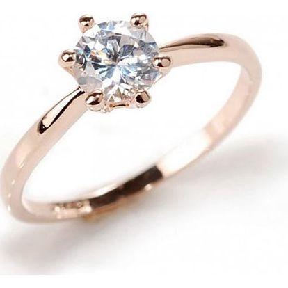 Dámský prsten s velkým kamínkem - 2 barvy