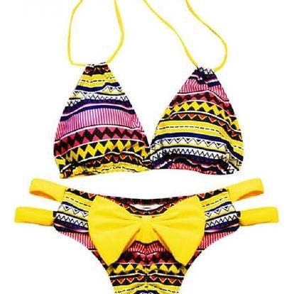 Bikini s mašličkou na spodním dílu