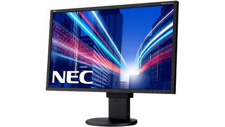 "NEC MultiSync EA244WMi, černá - LED monitor 24"" - 60003414 + Zdarma Myš Genius ScrollToo 200, bílá/růžová ( v ceně 120,- )"