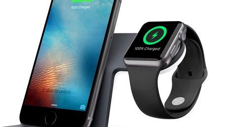 Belkin nabíjecí stojánek pro Apple Watch + iPhone 5/6 - F8J200vfWHT
