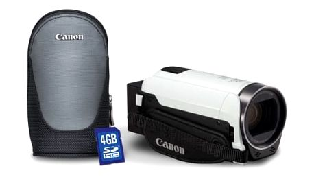 Videokamera Canon LEGRIA HF R706 Essential kit bílá