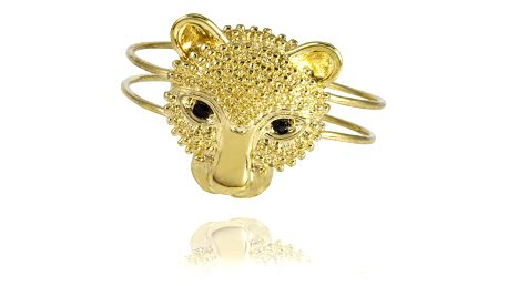 Fashion Icon Náramek leopard pevný