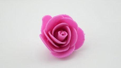 Mini dekorativní pěnové růžičky - 10 ks