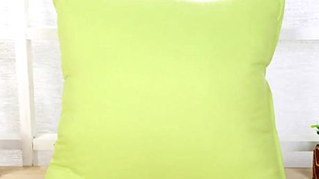 Jednobarevný povlak na polštář - 10 barev