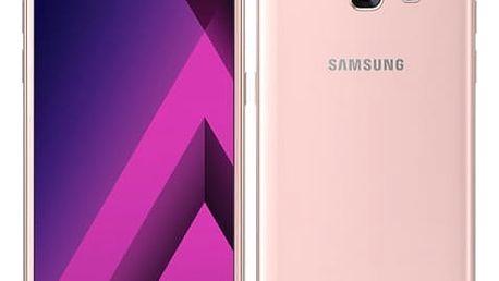 Mobilní telefon Samsung A3 (2017) (SM-A320FZINETL) růžový
