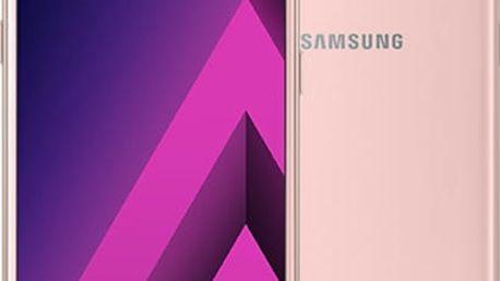 Samsung Galaxy A3 2017, růžová - SM-A320FZINETL