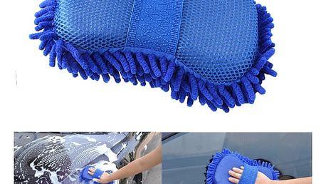 Houba z mikrovlákna na mytí auta