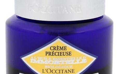 L´Occitane Immortelle Precisious Cream SPF20 50 ml denní pleťový krém proti vráskám pro ženy