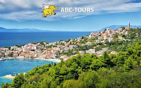 Chorvatsko, Makarská riviéra na 8 dní pro 1 osobu včetně dopravy