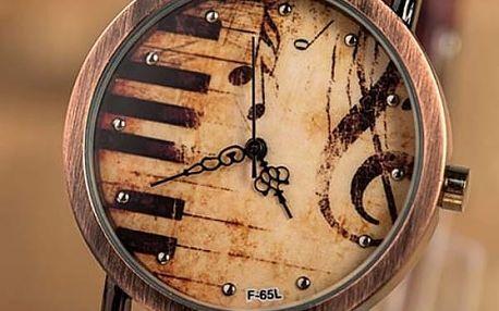 Vintage hodinky pro milovníky hudby - dodání do 2 dnů