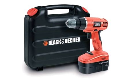 Aku vrtačka Black-Decker EPC18CAK