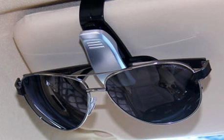 Držák brýlí jako klip na stínítko - 4 barvy