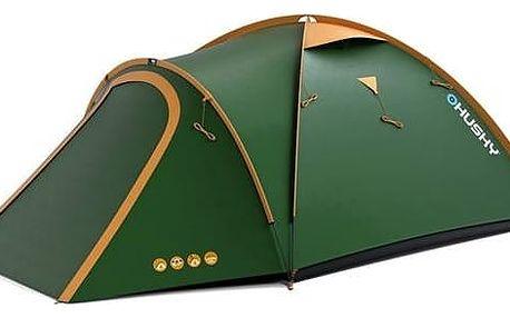 Stan Husky Outdoor Milop 3 zelený + Přístřešek BLUM 2 PLUS v hodnotě 930 Kč + Doprava zdarma