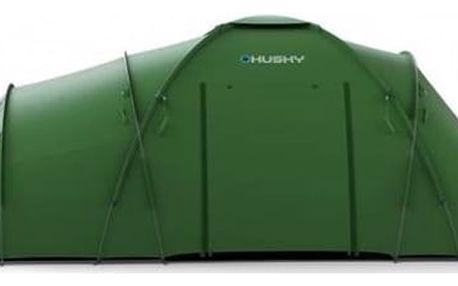Stan Husky Family Boston 6 zelený Přístřešek BLUM 2 PLUS + Doprava zdarma