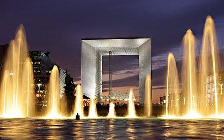 Paříž, Versailles, La Défense: zájezd z Prahy vč. 2 nocí se snídaní
