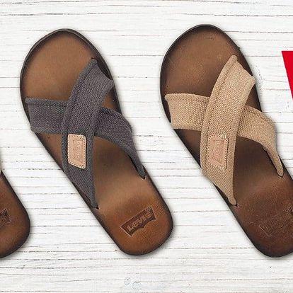 Pánské pantofle nebo žabky Levi's