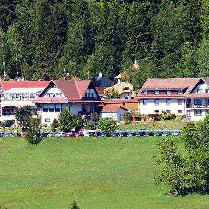Léto v Hotelu Podlesí na Vysočině s polopenzí, masáží, vstupem do bazénů i Pohádkové vesničky