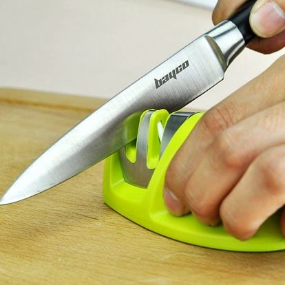 Duální kuchyňský brousek na nože