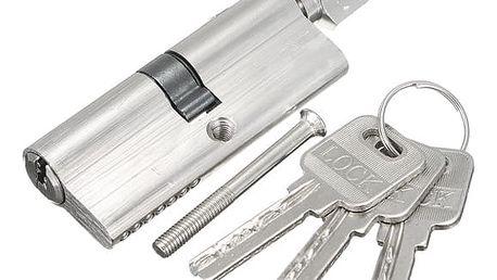 Zámková vložka s knoflíkem a třemi klíči - dodání do 2 dnů