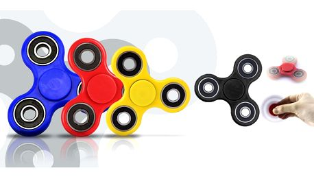Antistresová hračka Fidget Spinner i ve fosforové variantě