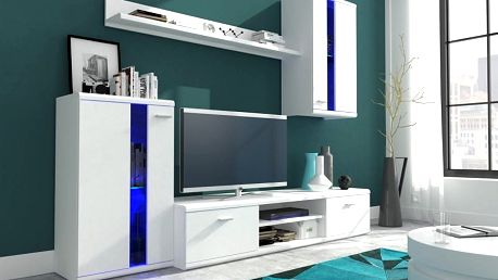 Life obývací stěna bílá