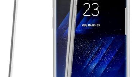 Kryt na mobil Celly pro Samsung Galaxy S8 (LASER690SV) stříbrný