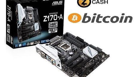 ASUS Z170-A GAMING/MINING - Intel Z170 - 90MB0LS0-M0EAY0 + ASUS Rondo