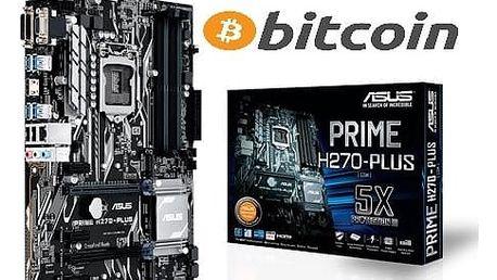 ASUS PRIME H270-PLUS MINING - Intel H270 - 90MB0S90-M0EAY0