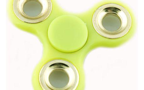 Fashion Icon FIDGET SPINNER 101 zelená světlá