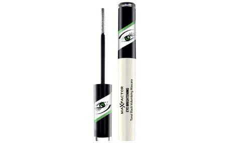 Max Factor Tonal Black Volumising Eye Brightening 7,2 ml řasenka pro ženy For Green Eyes